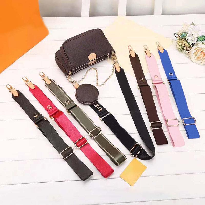 الكلاسيكية 3 في 1 حقيبة يد جلدية السيدات الأزياء حقيبة قطري حار بيع حقيبة واحدة الكتف واحد ثلاثة قطع مخلب محفظة