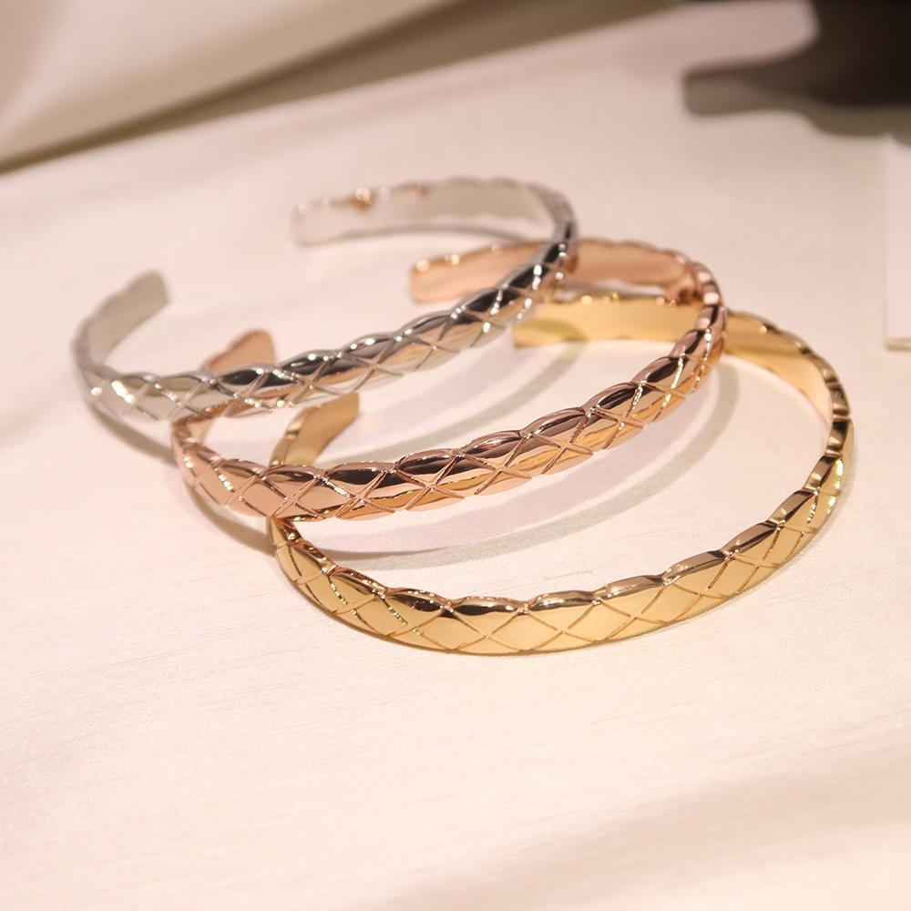 Популярные моды бренд браслет поперечной линии дизайн плед открытие браслета женские шарики мода знаменитость бесплатная доставка превосходное качество