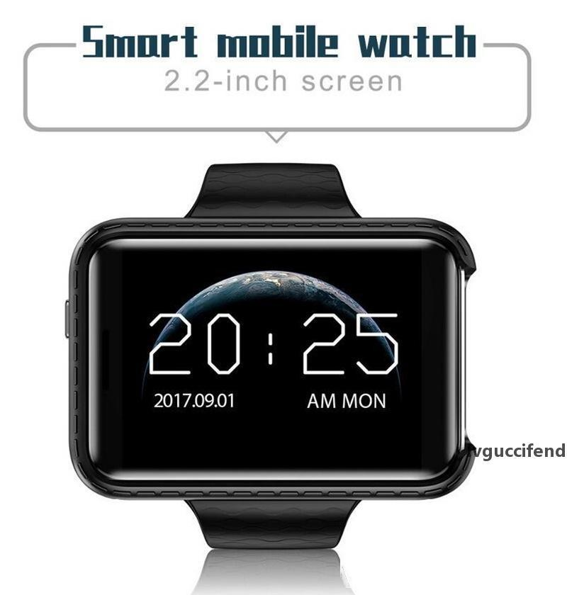 i5S Smart Mobile Watch MP3 MP4 télécommande Veille Moniteur Podomètre Caméra GSM SIM Smartwatch pour IOS Android PK DM98 Retail