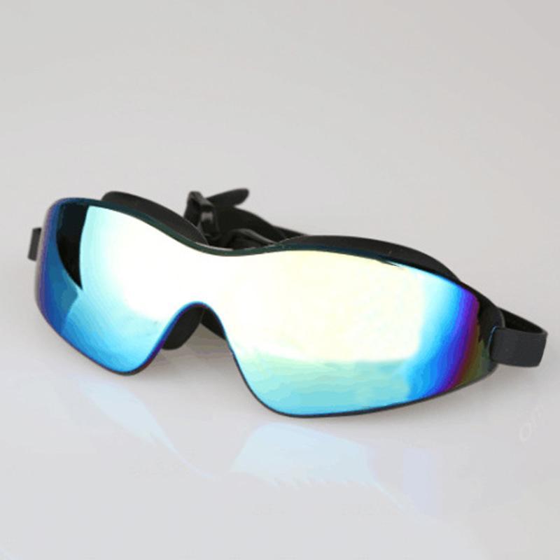 تصفيح إطار كبير نظارات السباحة المهنية مكافحة الضباب uv حماية للماء السباحة نظارات الكبار الرجال النساء نظارات السباحة Q0112