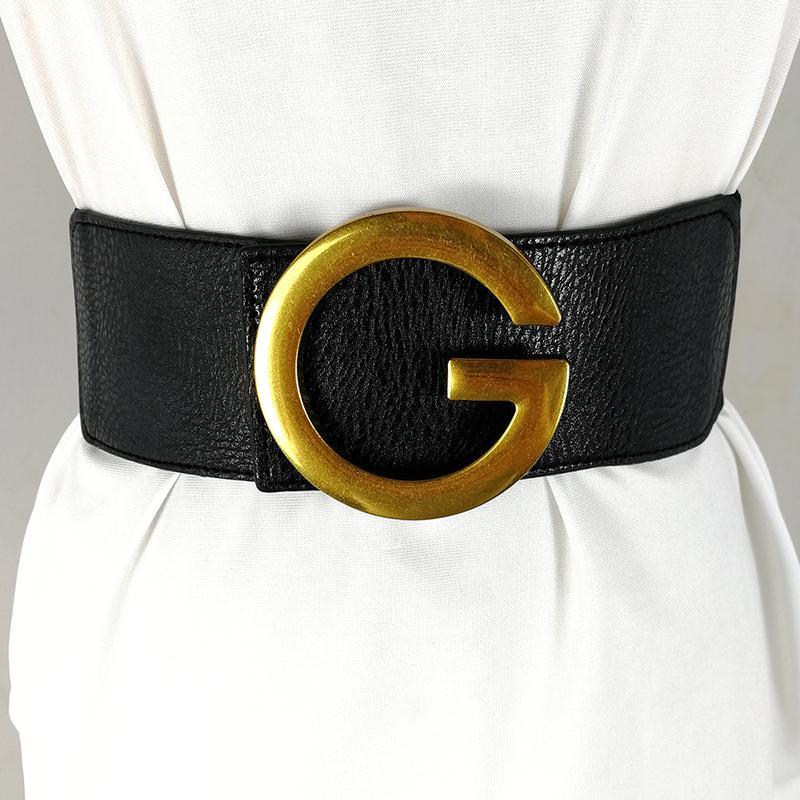 Cintos Grife Para Mulheres Alta Qualidade Espartilho Cinto de Luxo Marca Amplea Cinturon Mujer Elstico Cummerbunds Grande Ceinture