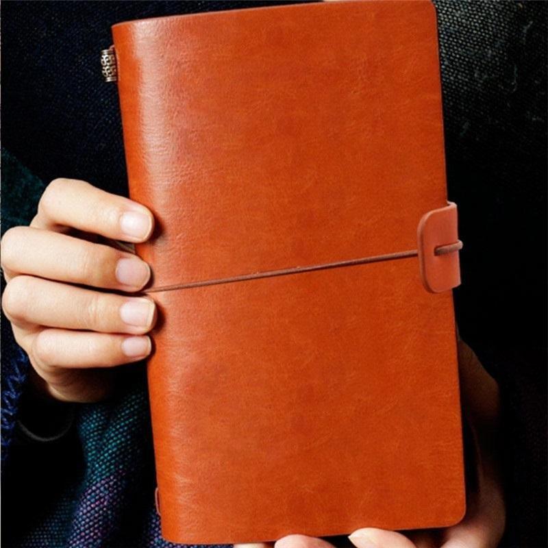 Notizblock Student Draft Buch Hausaufgaben Tagebuch Schreibwaren Weiche Leder Schaffell Reisebuch Geschäft Meeting Rekordmemo