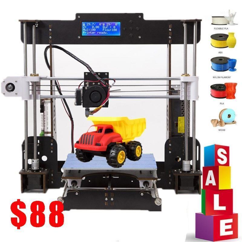 Stampante 3D A8 Black Precisione A8 Black + Filamiti Riprendere l'errore di alimentazione Stampa di stampa 3D Parts1