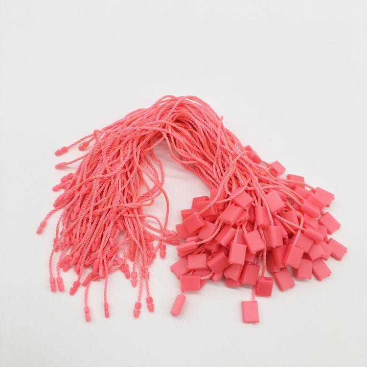 Changtag String Hang Tag Strings Оптовая 1000 шт. Обычный Красочный Повесить Теги Строка Swing Tire Tag Tag Блокировка для одежды