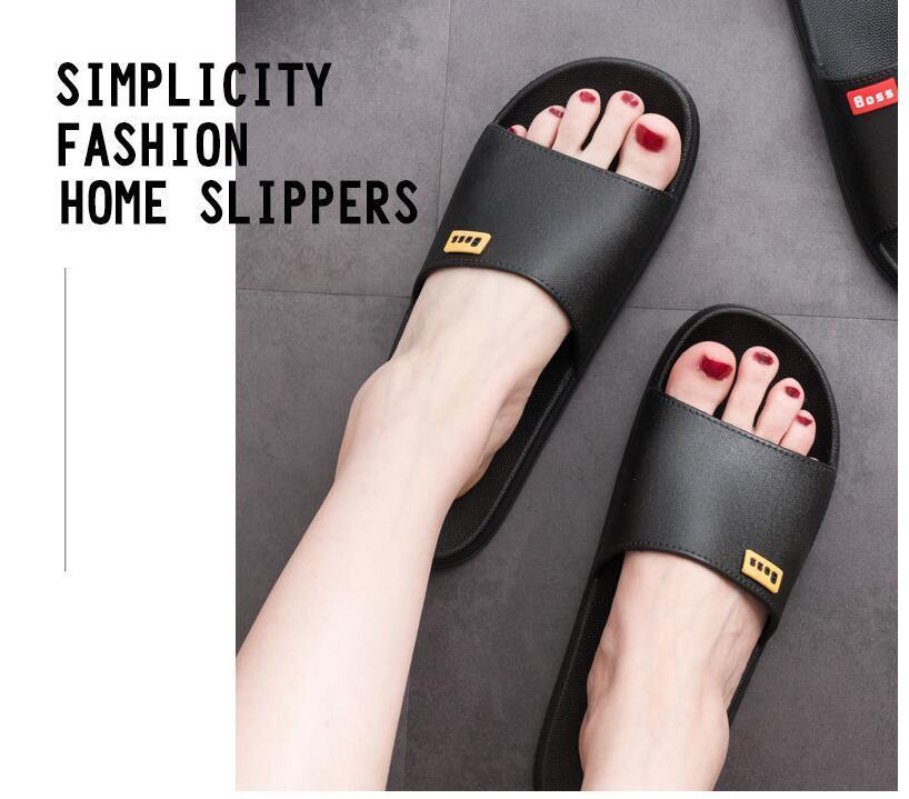 leather women designer sandal luxury flip flops Rubber Sandals Summer slipper Fashion Scuffs Slippers Indoor Shoes Large size 35-43