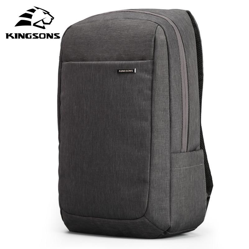 Kingsons Air Air Air Air Cel-Cushioning Bag Laptop Tablet Zaino Maschio femminile Overnterter Impermeabile Anti-Theft Mochila