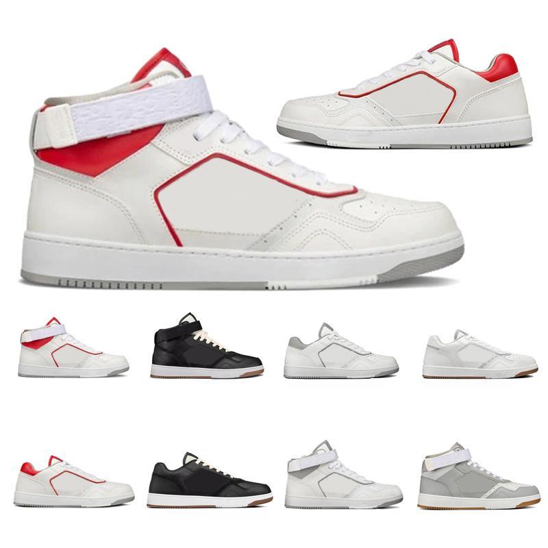 2021 Diseñador Hombres Mujeres B27 Zapatos Ocio Top Top Top Zapatos deportivos Zapatos deportivos de cuero Lujos Diseñadores TPU Tamaño de la parte inferior 36-45 # 987