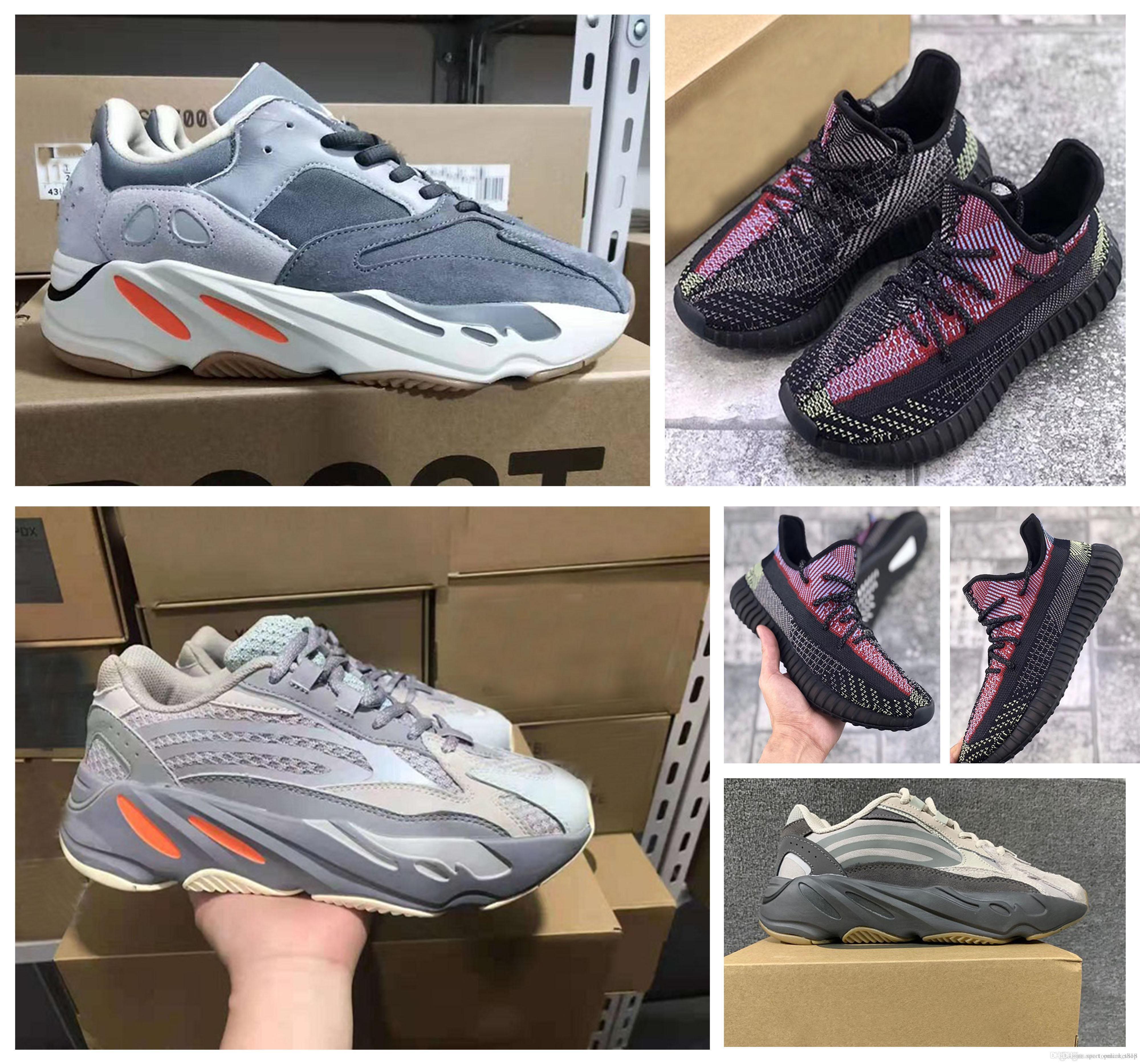 2020 Nuovo arrivo 700 v2 inerzia kanye west v2 yecheil scarpe da corsa 500 osso bianco uomo designer designer esternal sport sneaker fv3573