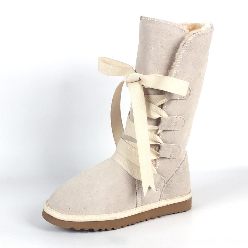 Lyx5 Curta Austrália Negra Menina Clássica EspelhosNowboots Botas de Neve Ankle 2021 Boot Bow Boot para Inverno Mulheres Chestnut Shoes Sapatos Mulheres 5-10 F