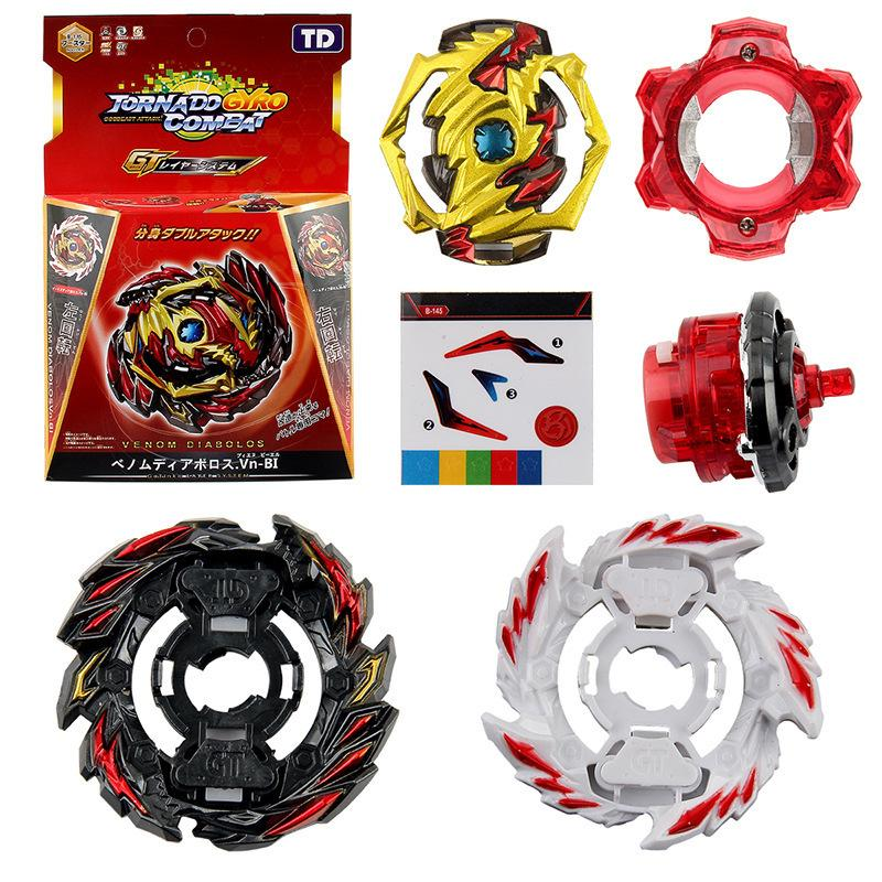 Beybleyd Switch 2 Gyro Cover Gyroscope игрушки для детей сплава собирают вращающиеся дети подарок LJ200921