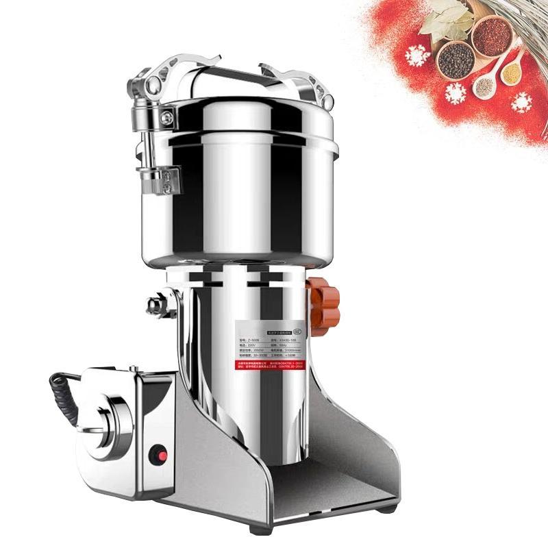 1000 g Tipo de columpio Amoladora de alimentos secos Granos de café eléctricos Polvo de hierbas Miller Miller Medicina Harina Especias Cereales Crusher