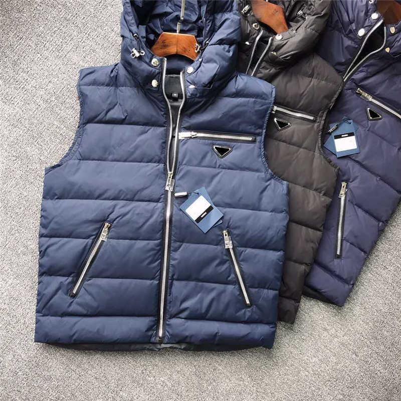 Mens с капюшоном с капюшоном с изображением с капюшоном с инвертированным треугольником ветровка для мужчин Женщины теплые толстые пальто жилет с молнией куртка пальто без рукавов M-3XL