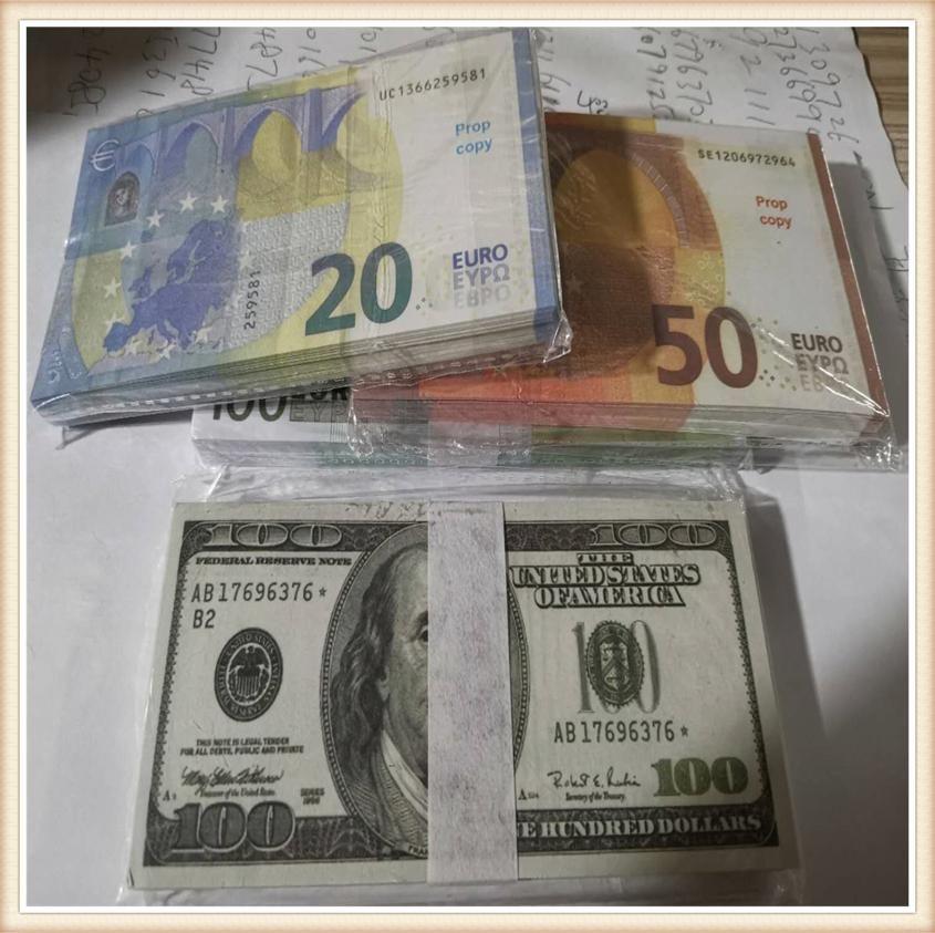 Bar Bill Euros PROP SIMULATE DOLLO TOY MONEDA APRES PELÍCULA FALSIFICADA CELEBRIDAD MONEY BANCO DOLLO DE DOLLO DE DÓLARES DE DÓLAR CALIENTES DE LA WEBS 135 JIUVK