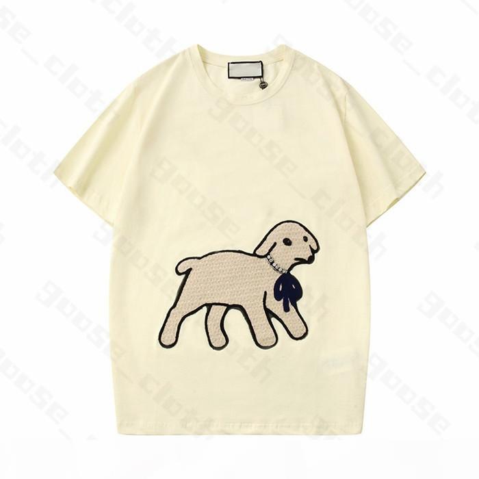 21s novos mulheres mulheres designer t camisas cordeiro tshirts carta carta de moda manga curta senhora t tees luxe womens roupas casuais roupas top roupas