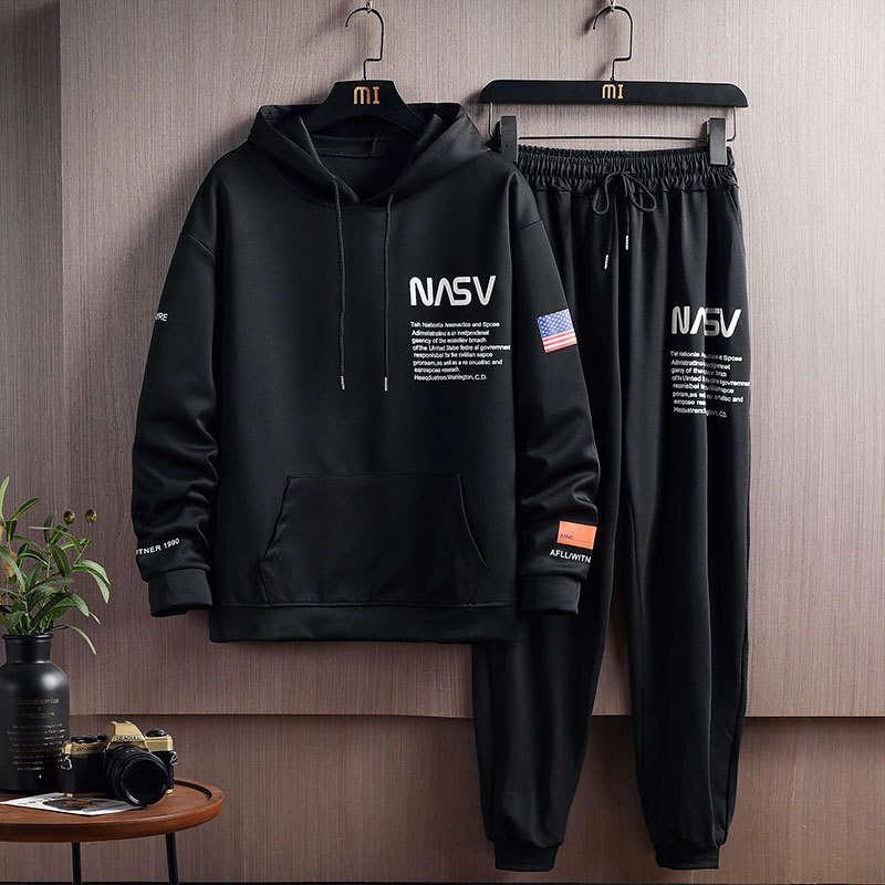 Erkek Eşofmanlar Rahat bir takım elbise Spor Korya yakışıklı 2021 Moda Marka ile İlkbahar ve Sonbahar
