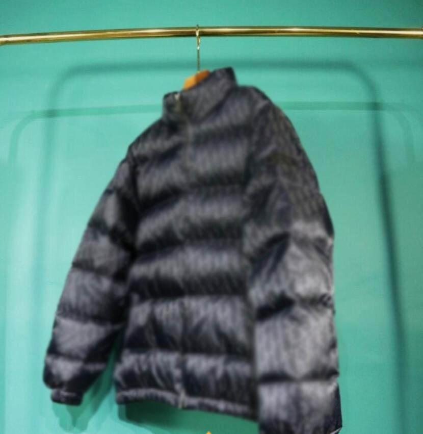 20FW Fransız Sonbahar ve Kış Son En Çok Yönlü Moda Yüksek Kaliteli Erkek Aşağı Ceket Topları Top Tam Erkek Kış Mont Kış Ceket Mektubu