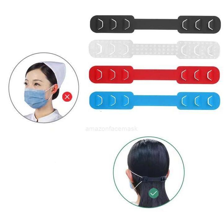 Adjustable 14.5*2.4CM Mask hook 500PCS Third Gear Anti-Slip Mask Ear Grips Extension Hook FY6101 HQ6I