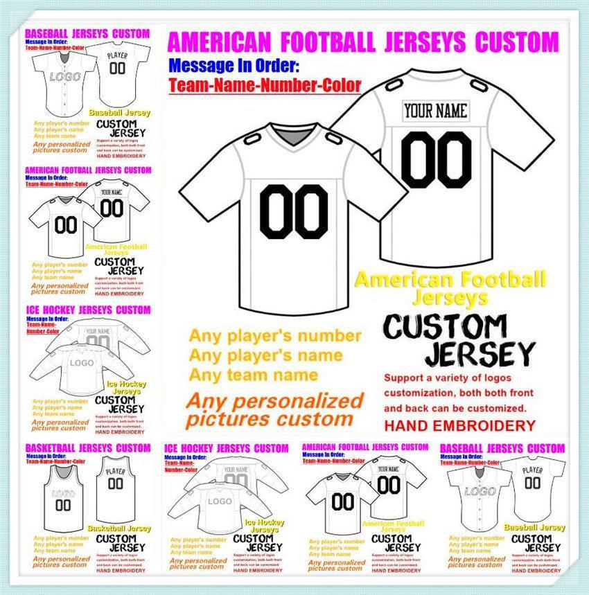 Custom Baseball Hóquei Basquete Mens Mulheres Juventude Juventude Futebol Jerseys Vapor De Esportes Vapor 2021 Jersey Sew 4xL 5XL 6XL