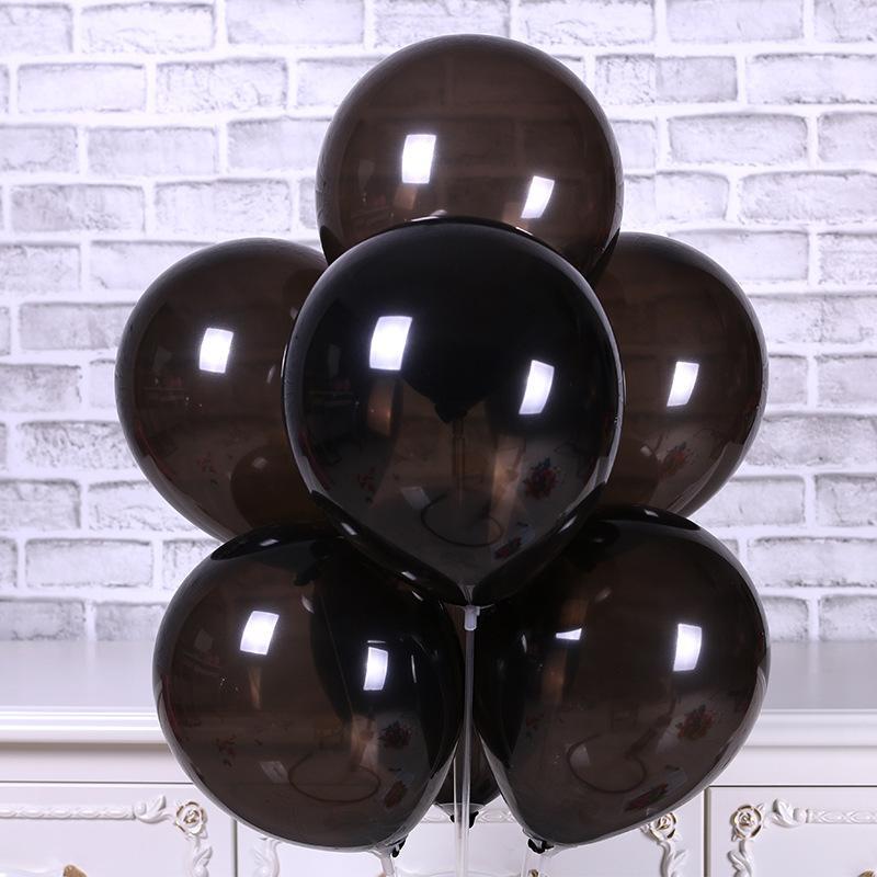 Halloween Dekoration Latex Ballons Drucken Schwarz Orange Welle Punkte 12 Zoll 6 Designs Kinder Spielzeug Party Dekoration Requisiten 06