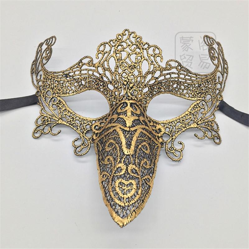 Mascarte Cross-Bordure Halloween Exclusive Show Masque de dentelle Grossiste