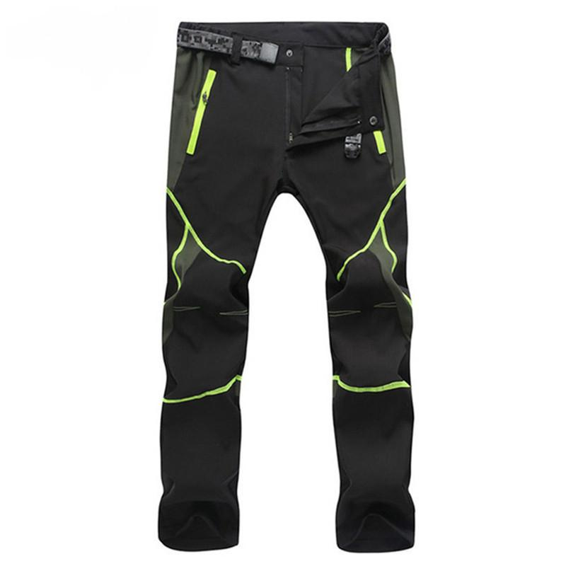 Men's Lightweight Ultra Qui Dry Stretch Thin Waterproof Trousers Military Tactical Sweatpants Casual Work Cargo Pants