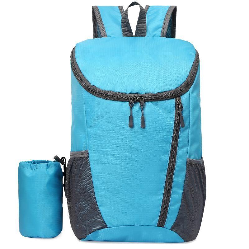 20L сверхлегкий складной открытый рюкзак нейлоновый водонепроницаемый сумка для велосипеда кемпинг походный лазания путешествия спортивные сумки