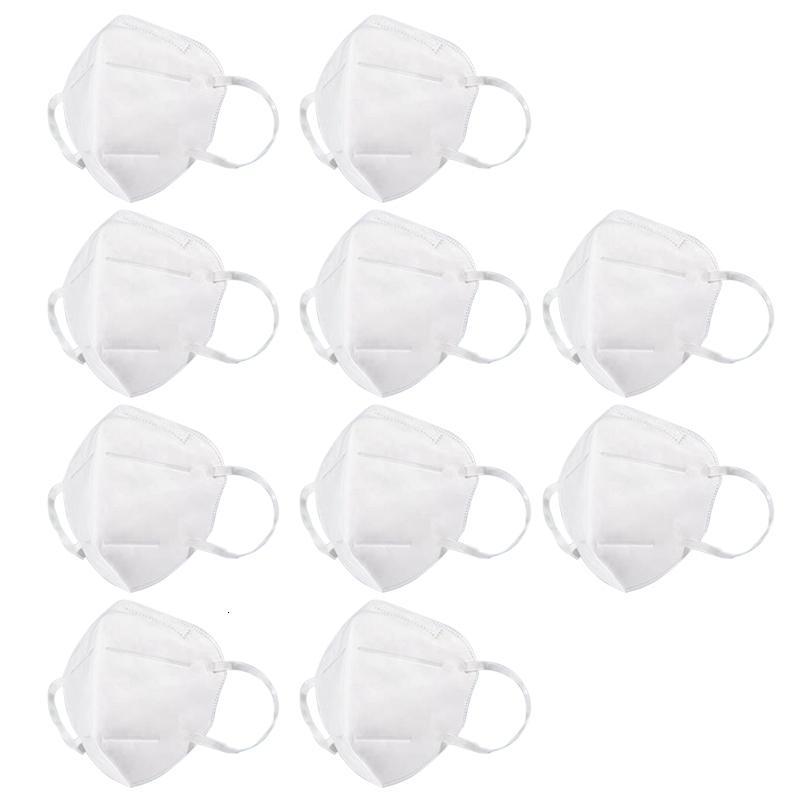 Vlies 10pcs / Pack PM2.5 Anti-Maske Trübungsstaubfläche