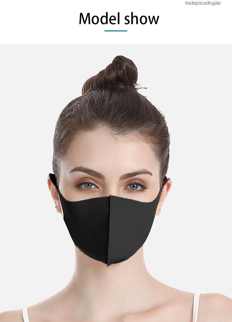 Protección a prueba de polvo Anti facial PM2.5 Anti-bacteriano Mascarilla de polvo de viaje exterior Lavable