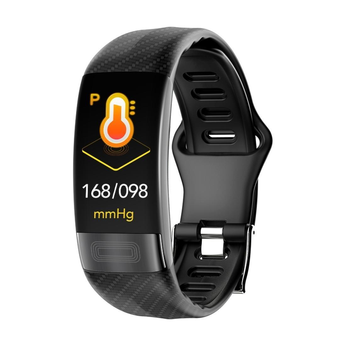 P11 096 Zoll TFT Color Screen Smartwatch IP67 Waterproofsport Herzfrequenz ÜberwachungBlackdruckmonitoringEcg Monitoringlorentz-Diagramm
