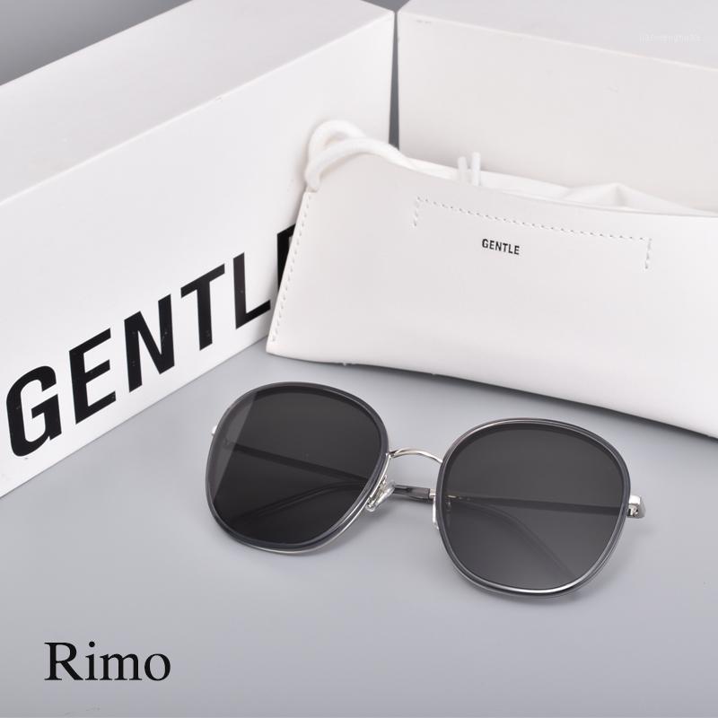 Sunglasses 2021 Fashion Korea Women Men Acetate Polarized UV400 Lens GENTLE Rimo With Brand Case1
