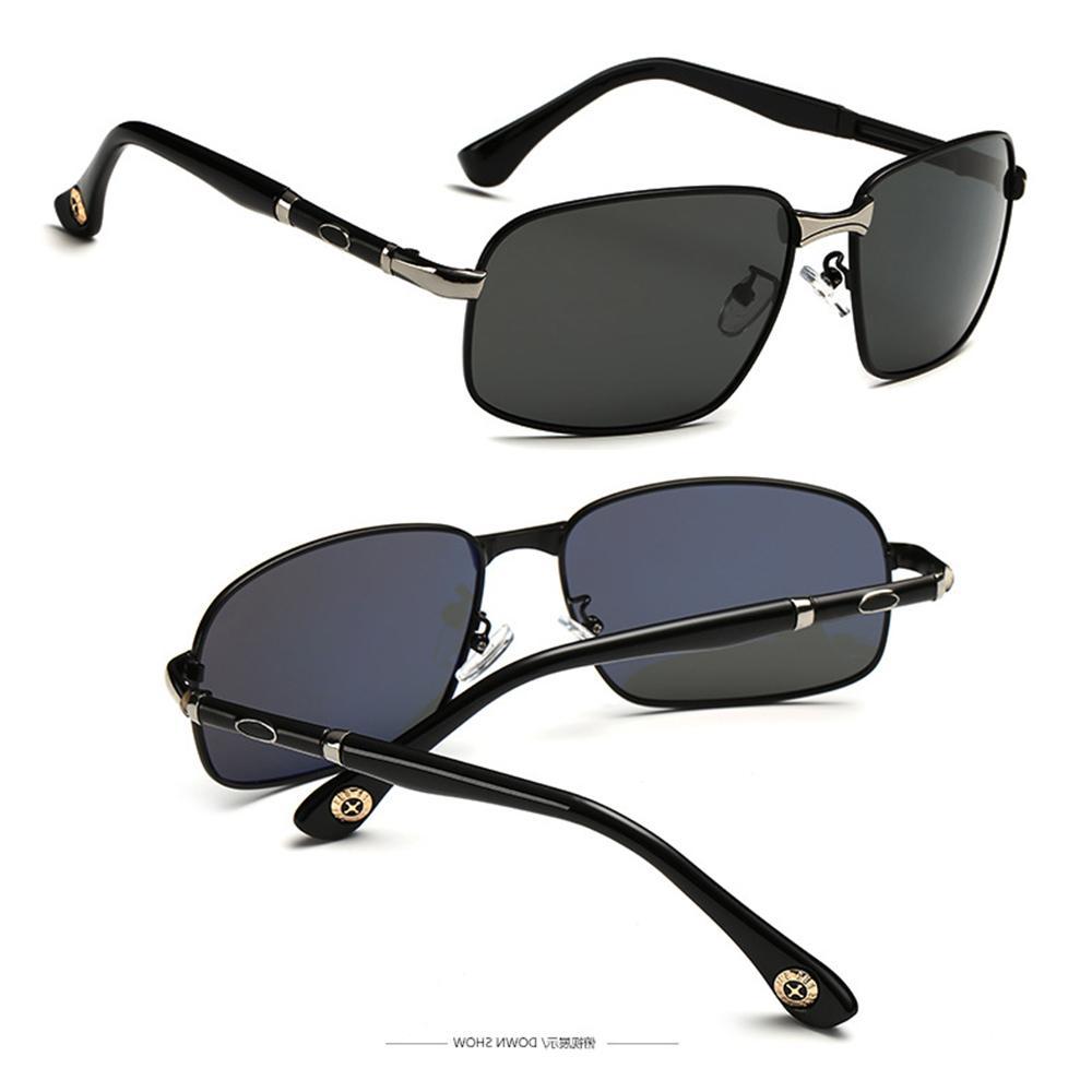 2019 Real High-end Мода Вождение Солнцезащитные Очки Поляризованные Зеркальные Солнцезащитные Очки Custom Myopia Минус Рецепт Lens -1 до -6