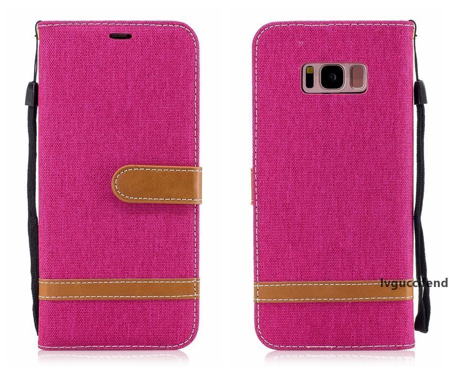 Flip Cover для Samsung Galaxy S7 Edge Edge S8 Plus Case роскошный кошелек карта Cowboy Vintage для Galaxy S8 Plus Cover Case