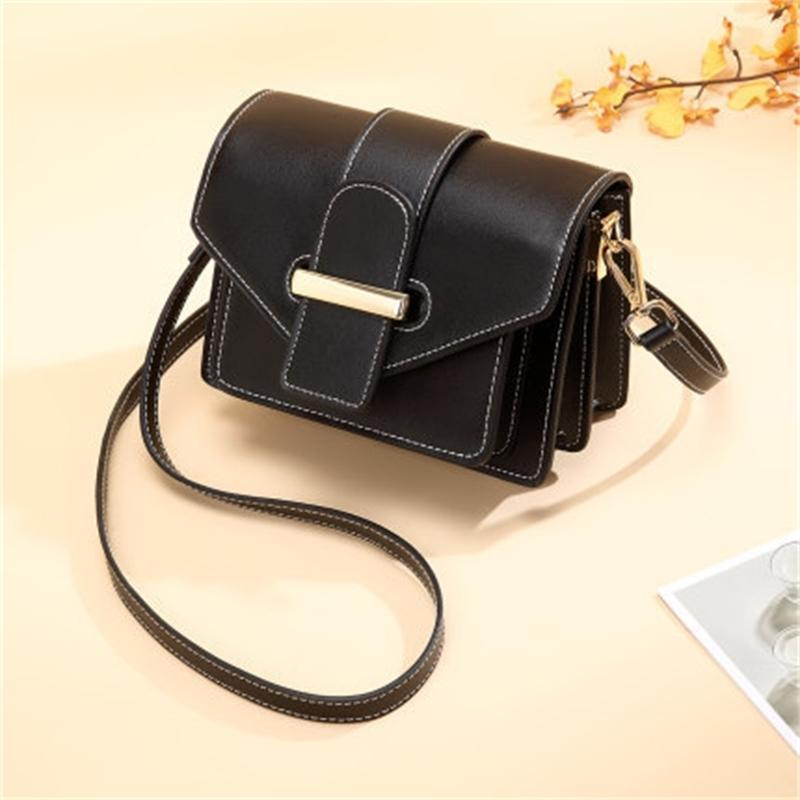 Female single shoulder bag lady spring leather courier little bundle of coin cell phone bags I7AP