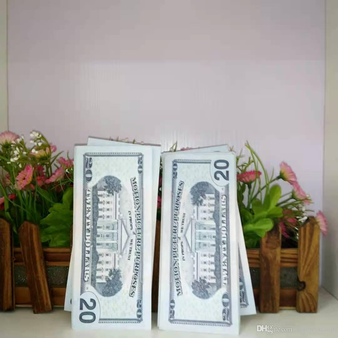 Съемка денег поддельная валюта моделирования доллара доллар Билл ценящий розничный фильм реквизит контрафактные и банкноты телевизионные реквизиты пиратские фальшивые деньги 2 JQQL