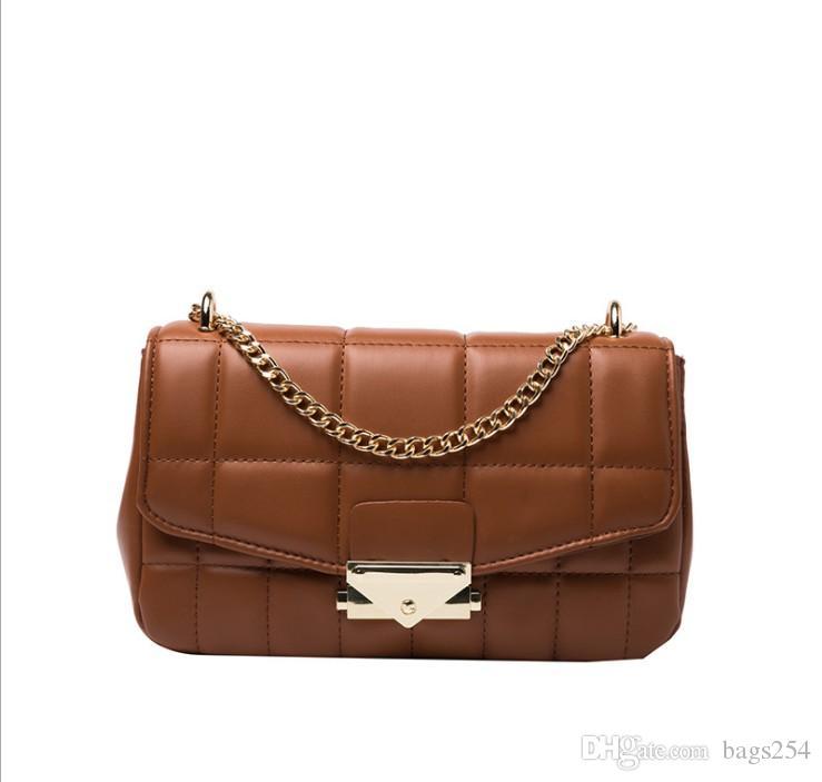 Color sólido Soft PU Cuero Pequeña solapa Bolsas para mujer Nueva Moda Crossbody Packs Bolsos de mano Hombro femenino