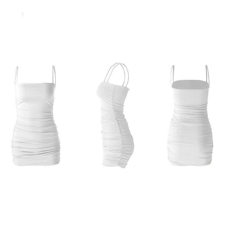 Mulheres moda casual vestidos breves saia de quadril modal caiu sexy verão vestido qq33u7gjl