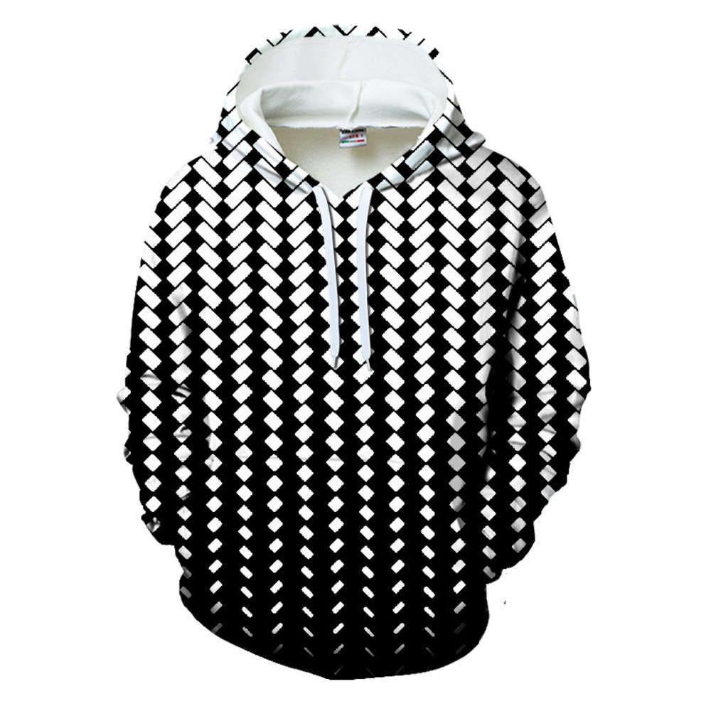 3D imprimer sweats à capuche à capuche couple couple sweatshirts vestes de poche noir violet vert mode de style de rue
