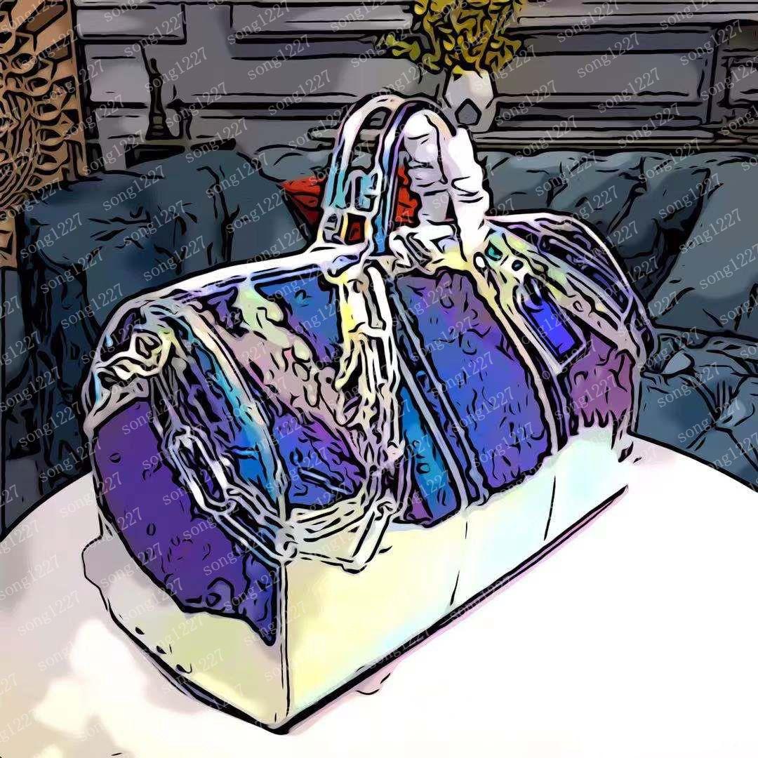LUSKURYS Designer Borse 2021 Viaggio B AFS 50cm Fashion t Ravel Bag DAZZLING colore Design di grandi dimensioni con tono arcobaleno molto luminoso