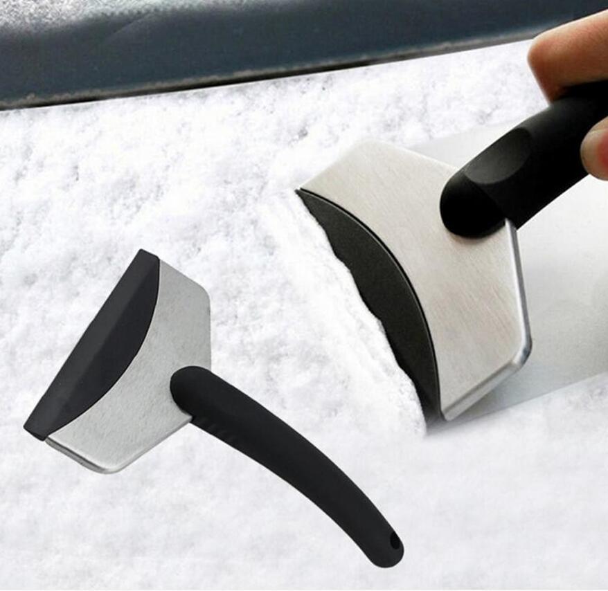 دائم الثلج الجليد مكشطة سيارة الزجاج الأمامي السيارات إزالة أداة نظيفة أداة نافذة تنظيف أداة الشتاء غسل السيارات الملحقات الثلوج المزيل DDD3484
