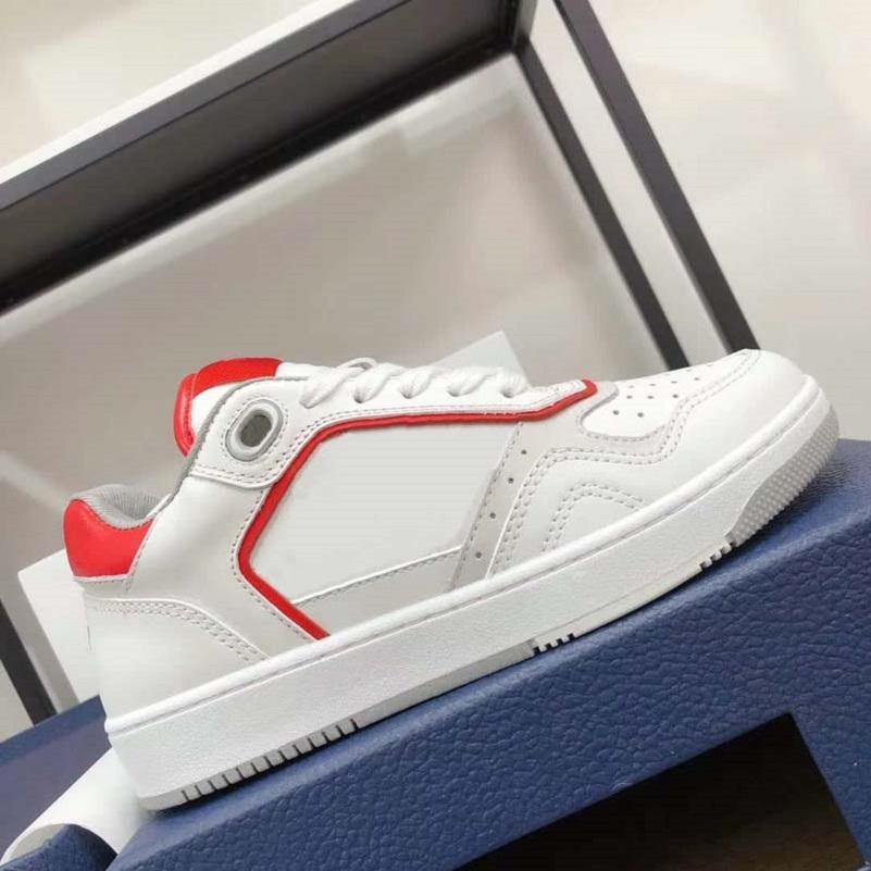 Qualidade de couro real oblíqua homem sapatos de lona homem sneaker mulheres sapatos de couro de couro lace up branco com preto home011 07