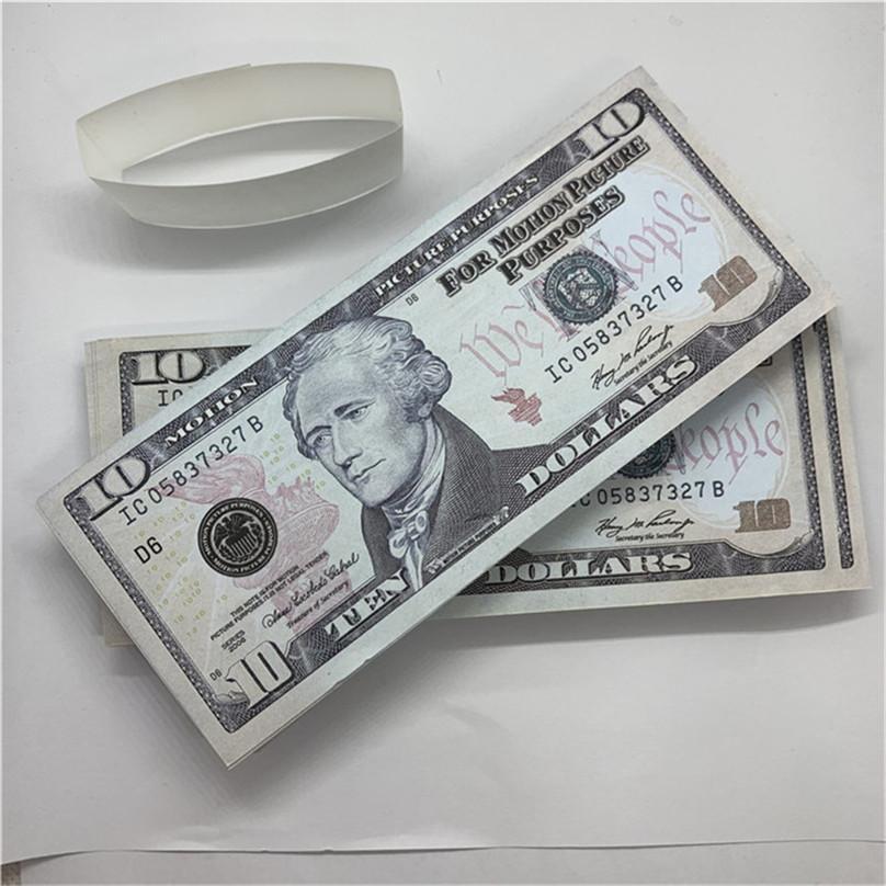 Giocattoli magici Bambini Real Regali di valuta Partito US Fast T43 Gioco Copia di consegna Puntelli di consegna Paper Mostra Design RFGXT XCBPA