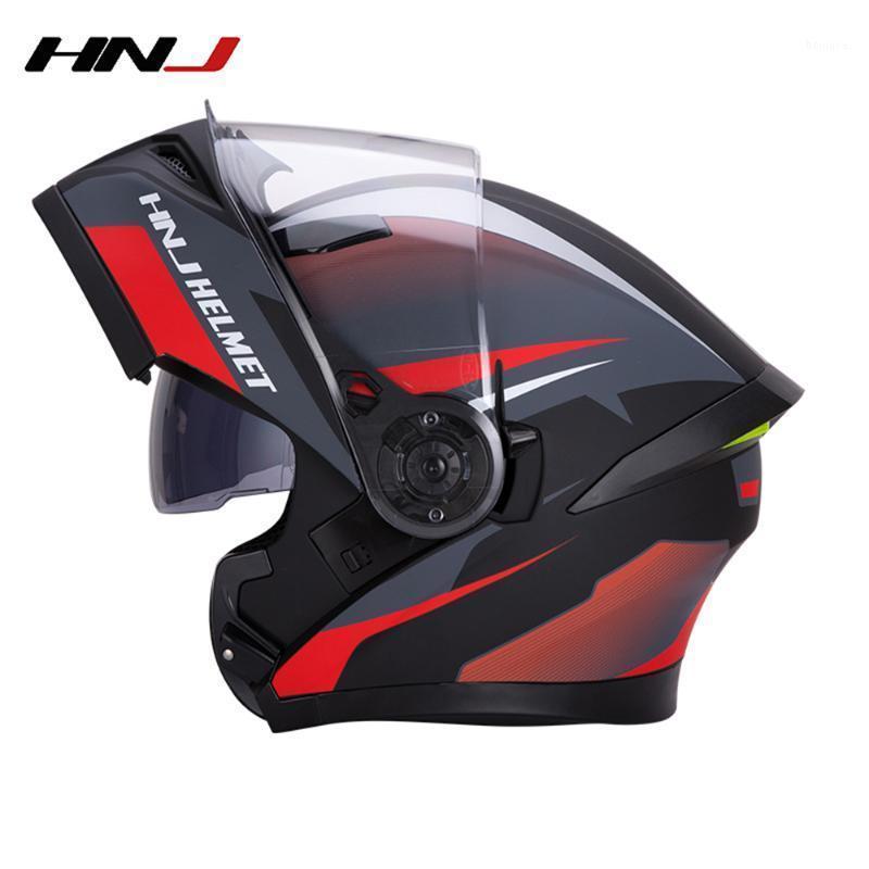 Motosiklet Kaskları Flip Up Motocross Kask Capacete Moto Yarış Binicilik Araçları Erkekler Ve Kadınlar için Cascos Capacetes Para Moto1