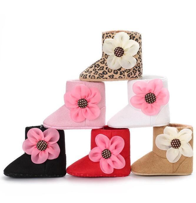 Baby Princess Girls осень зимние ботинки новорожденные дети предварительно проводящие мягкие аспиральные ботинки ботинки Baby Girl