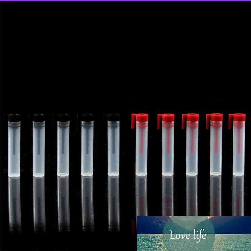 50 adet / grup 2 ml Mini Plastik Parfüm Şişesi Esansiyel Yağ Örnek Vials Test Cihazı Deneme Parfüm Şişesi Kırmızı ve Balck Stoper