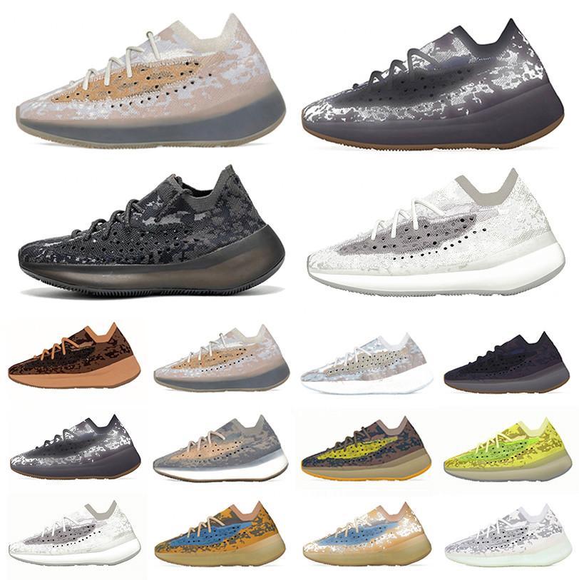 Yeni Kalsit Glow Biber 380 Oniks Kanye West Erkek Koşu Ayakkabıları Mavi Yulaf Lmnte Mist Alien 380s Üçlü Siyah Kadın Eğitmenler Spor Sneakers