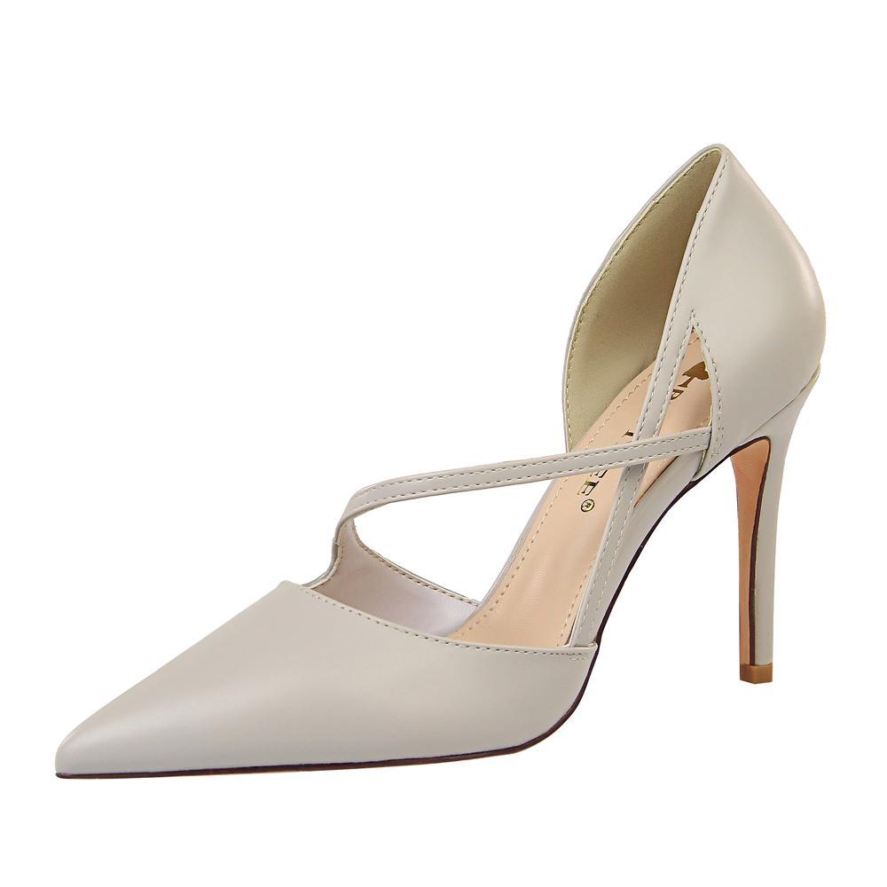 2020 Новая кожа Последние желтые розовые бомбы экстремальные высокие прыжки леди крест ремень Плоские поддельные ботинки одетые женские туфли шпилька YIMA