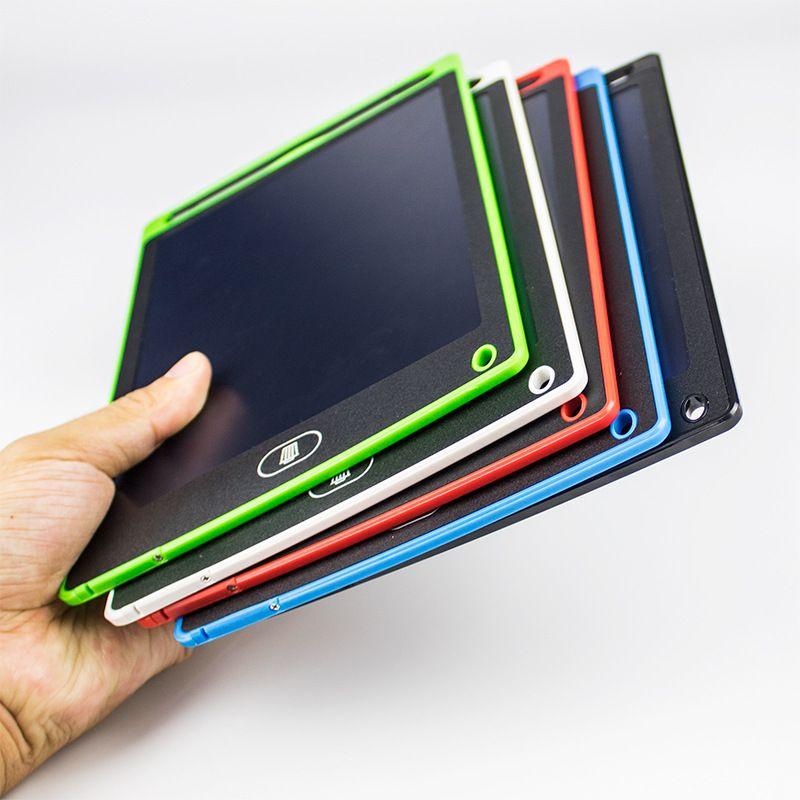 8.5 inç LCD Yazma Tablet Çizim Tahta Blackboard El Yazısı Pedleri Hediye Çocuklar için Kağıtsız Not Defteri Tabletler Memo ile Yükseltilmiş Kalem Notu