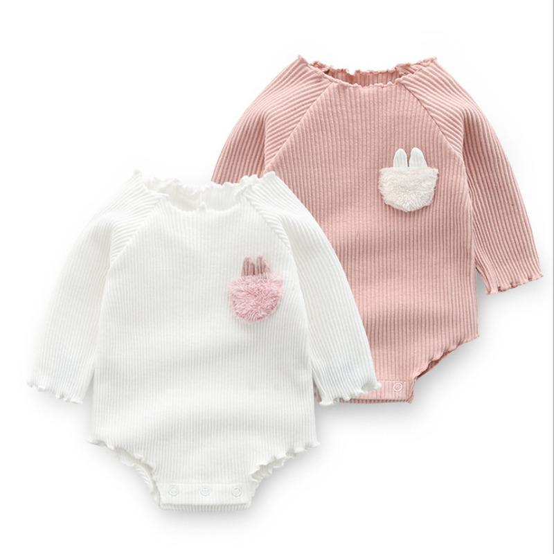 Cute Baby Girls Clothes Spring Autumn Cotton Long Sleeved Bodysuit Baby Bag Fart Jumpsuit Sibling Outfits Newborn Infant Clothes Z1121