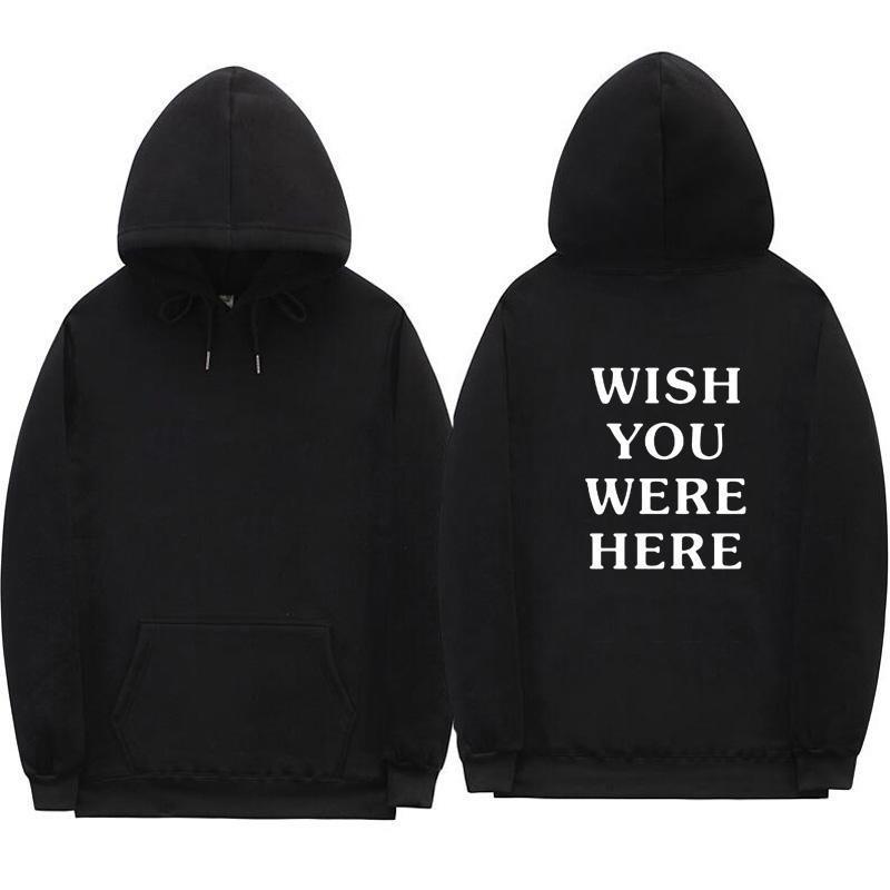 Nova moda Hoodies Moda Carta Impressão Hoodie Streetwear Homem E Mulher Pulôver Suéter