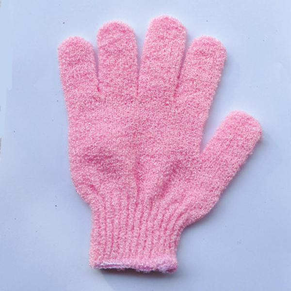 50шт Ванна Душ перчатка для пилинга отшелушивающий Mitt перчатки Пять пальцев скруббер Spong ванны перчатки